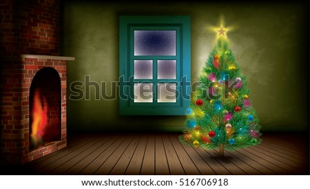 christmas tree indoor