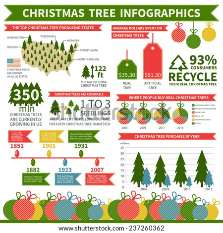 christmas tree infographics design  elements  charts  diagrams    christmas tree infographics design  elements  charts  diagrams