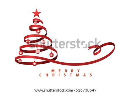 Ribbon A Christmas Tree