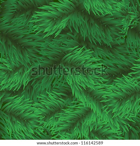 Christmas tree seamless background