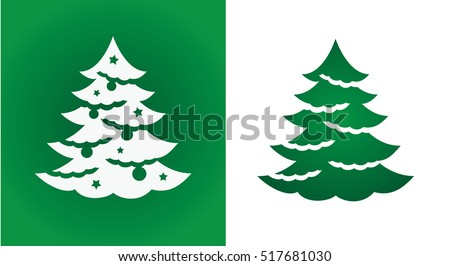 stock-vector-christmas-tree-silhouette-felling-laser-cutting