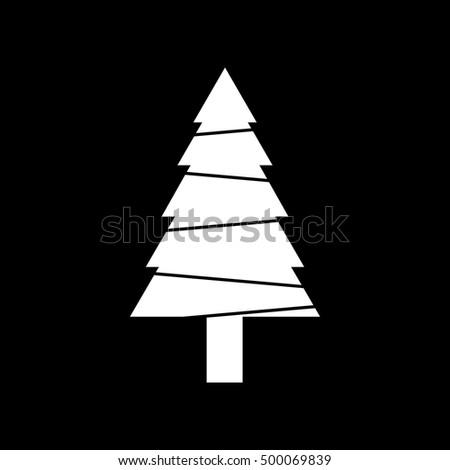 christmas tree vector #500069839