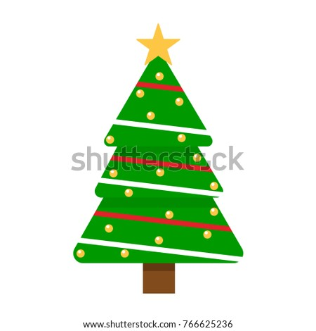 Christmas tree,  vector #766625236