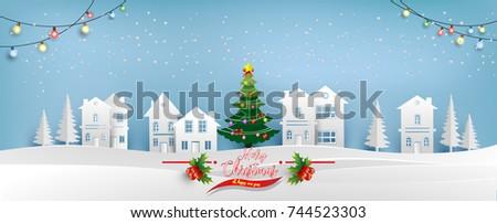 christmas tree with beautiful