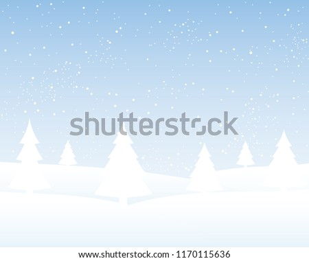 Christmas Tree with Snowflakes. New Year and Christmas Banner for Text Greeting Card. White Rectangle Ornaments with Decoration of Snowflakes. White Snowflake Banner Winter Season. Snow Banner.