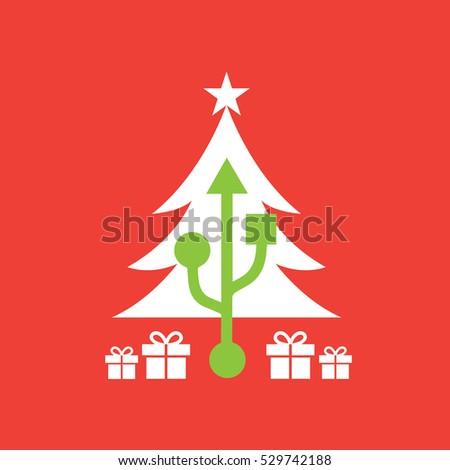 christmas tree with usb port