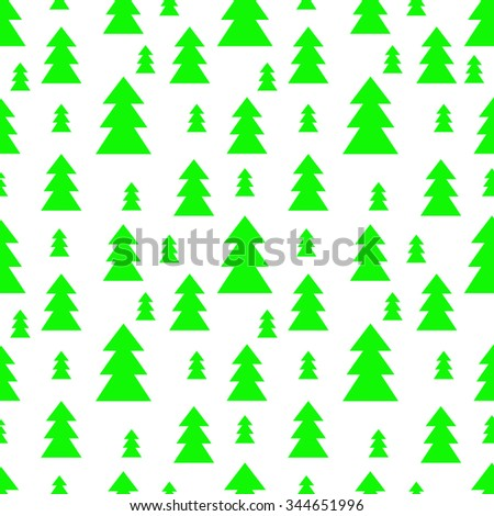 christmas trees seamless