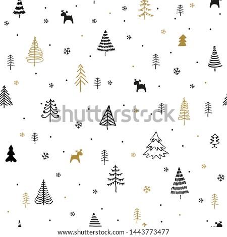 christmas trees seamless