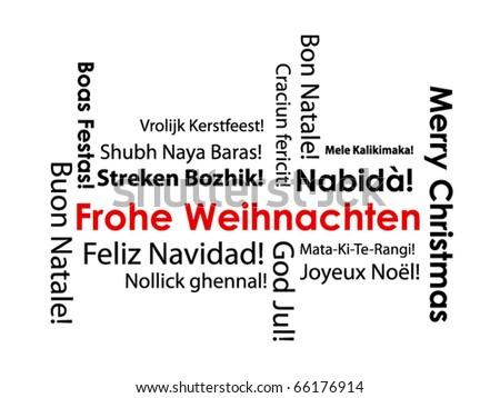 christmas typography frohe weihnachten german written. Black Bedroom Furniture Sets. Home Design Ideas