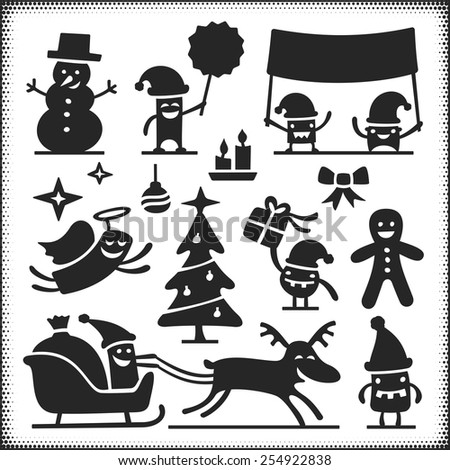 christmas vector characters