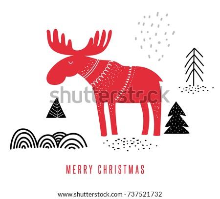 christmas  winter illustration