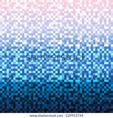 Christmas Pixelated Vector Background - Download Free Vector Art