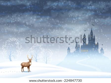 christmas winter vector