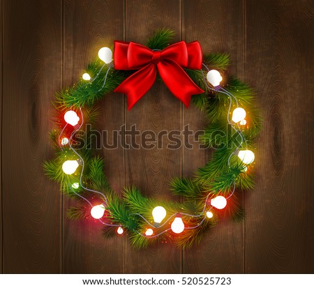 free christmas wreath pattern download free vector art stock