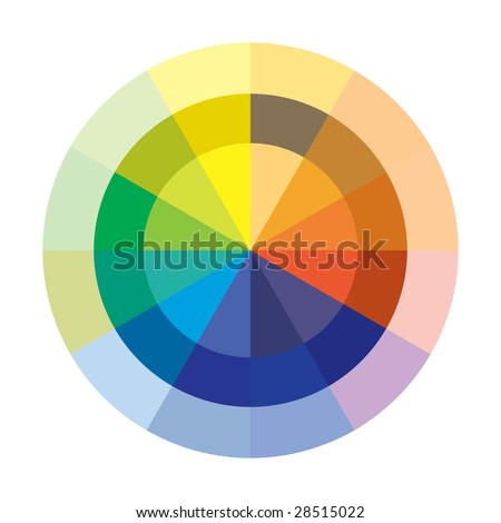 Chromatic Circle In Vector Mode - 28515022 : Shutterstock