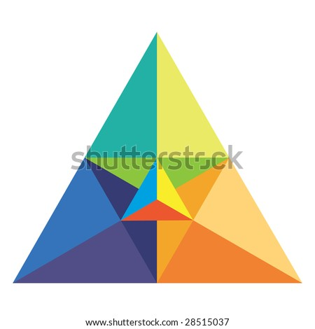 Chromatic triangle in vector mode