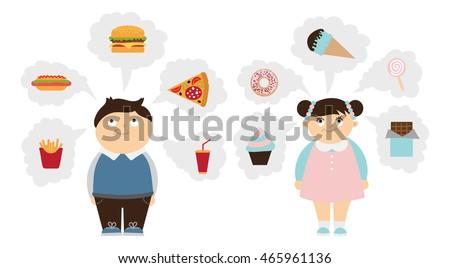 chubby kids dreaming set fat