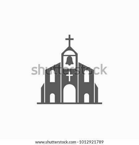church icon, church vector
