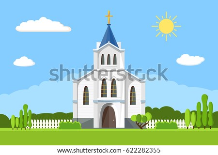 church icon. vector...