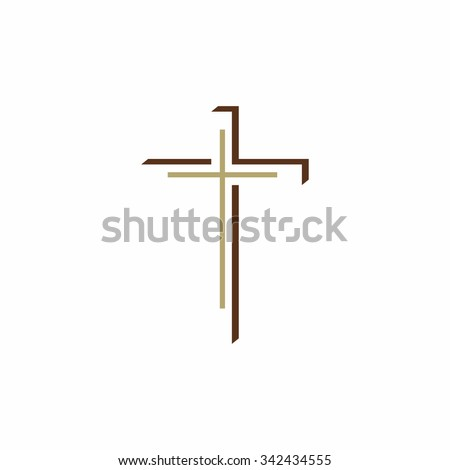 Church logo. Christian Cross