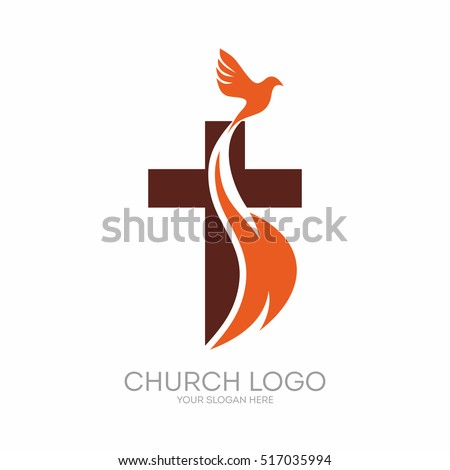 church logo christian symbols