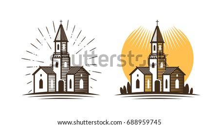 church logo. religion  faith ...