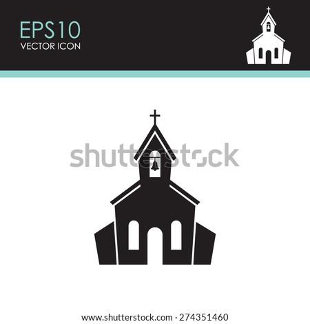 stock-vector-church-vector-icon