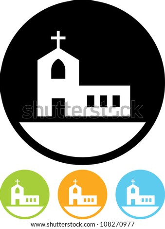 Church - Vector icon isolated