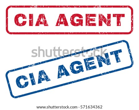 cia agent text rubber seal