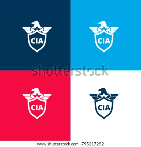 cia shield symbol with an eagle