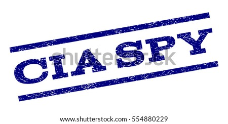 cia spy watermark stamp text