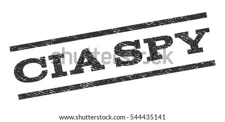 cia spy watermark stamp text