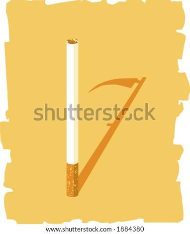 Cigarette - stock vector