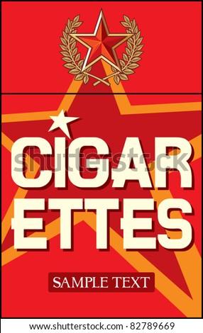 cigarettes label