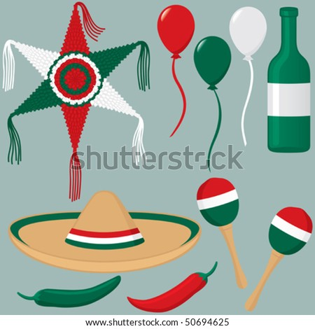 cinco de mayo clip art. stock vector : Cinco de Mayo
