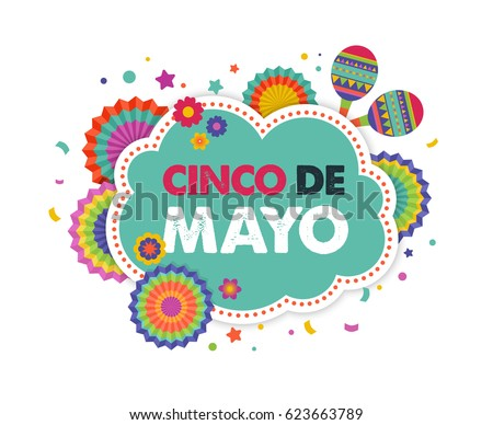 Cinco de mayo greeting card download free vector art stock cinco de mayo may 5 federal holiday in mexico fiesta banner and poster m4hsunfo