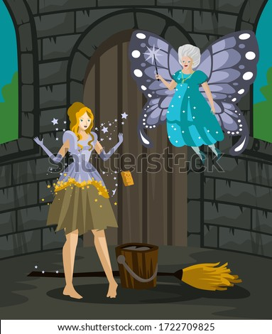 cinderella fairy tale with