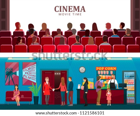 cinema and movie time colorful...