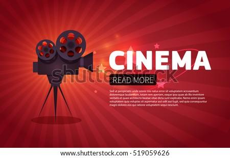 cinema background or banner