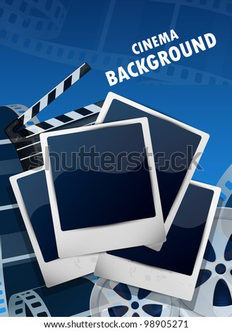 cinema background with