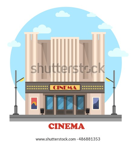 cinema building for art movies...