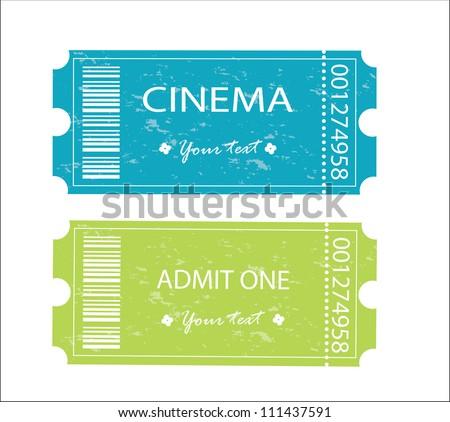 Cinema, entrance tickets.
