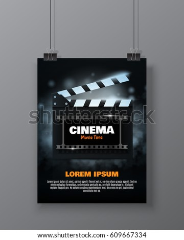 cinema festival flyer or poster