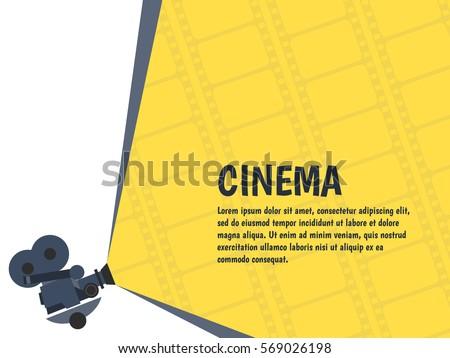cinema festival poster or flyer ...