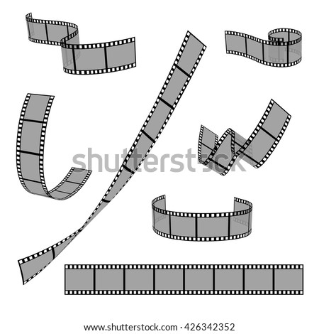 cinema film strip roll 35mm