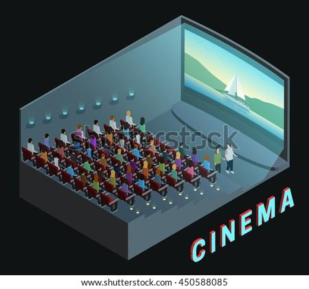 cinema movie theater indoor
