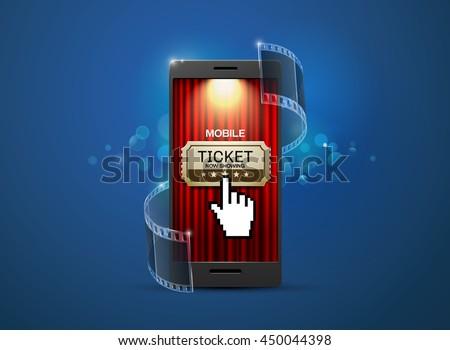cinema, movie ticket,online,mobile cinema