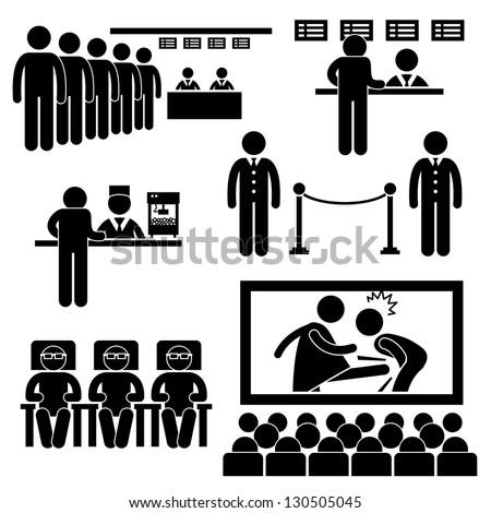 cinema theater movie moviegoers