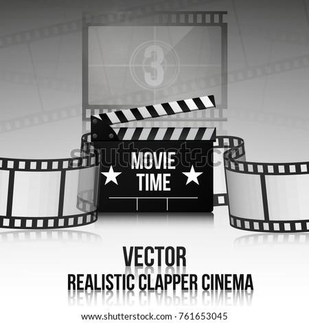 cinema vector poster design