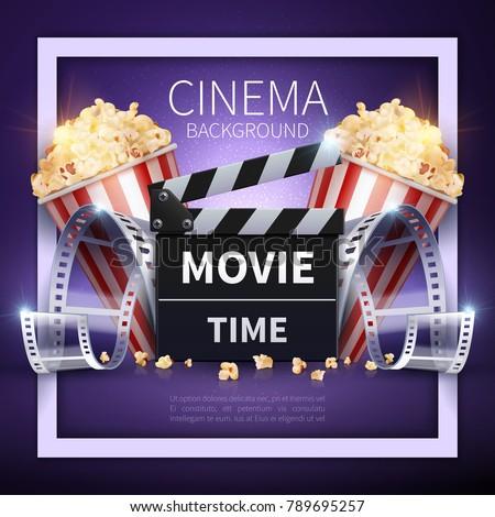 cinema vector poster online